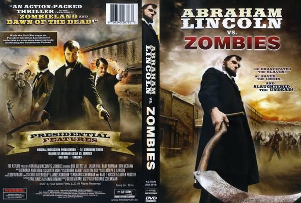 Carátula de Abraham Licoln vs. Zombies